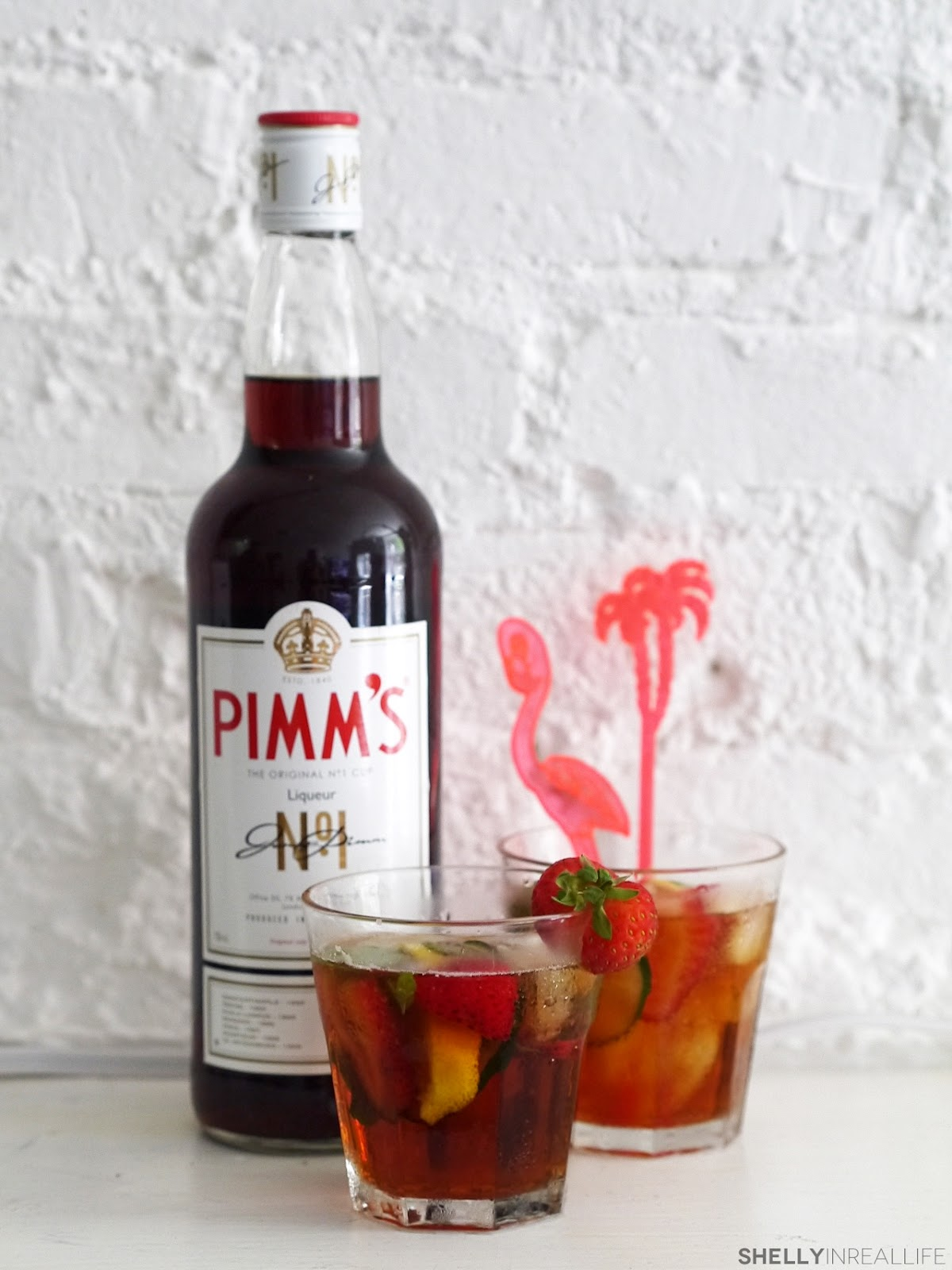 Pimm's Cup, the Perfect Summer Drink - shelly in real life