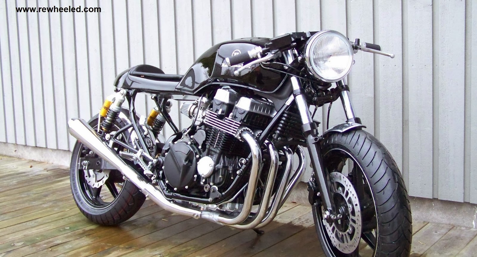 Honda CB 750 Seven Fifty Cafe Racer By Re Cycles Bikes Rewheeled AB