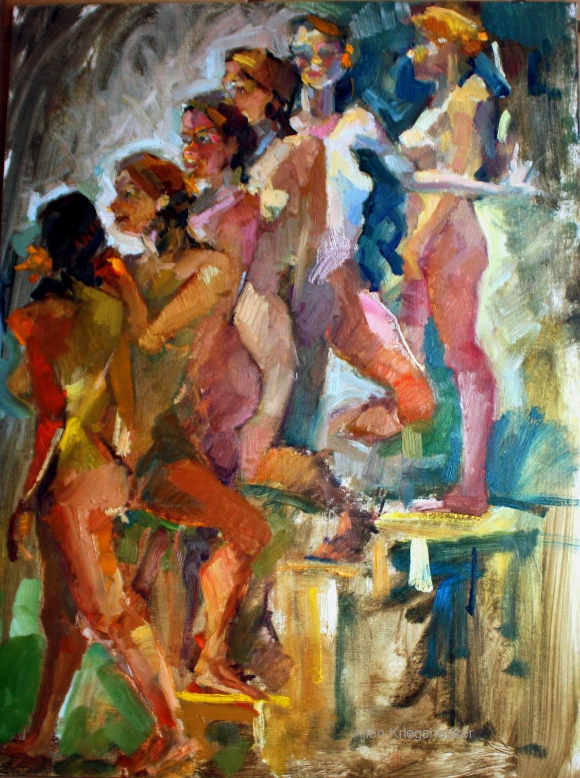 Picassos nude descending a staircase