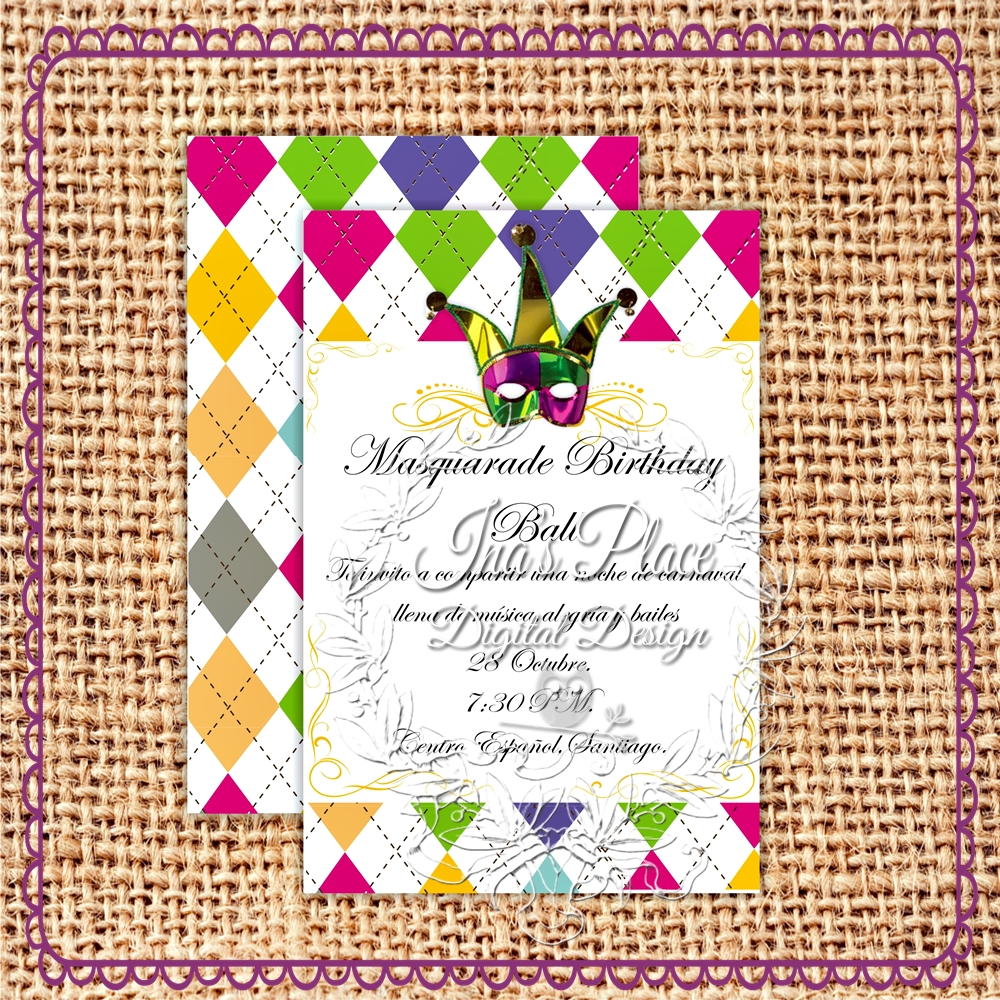 Ina's Place Invitations & Party Supplies: It's Carnival ...