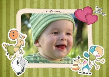 marco de foto infantil online