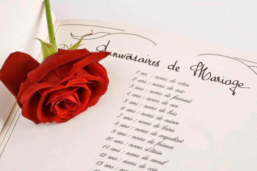 Carte anniversaire de mariage 10 ans a imprimer