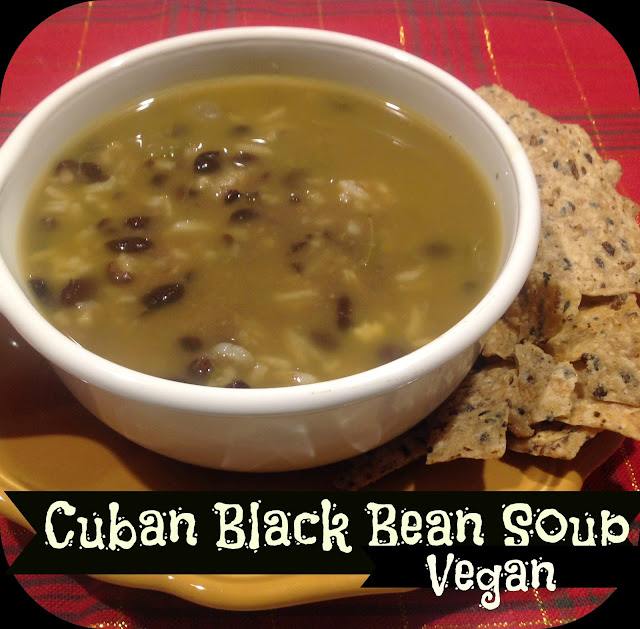Gluten Free A-Z : Cuban Black Bean Soup-Spicy and Smoky