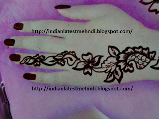 flower mehndi designs 2013 for hands 3