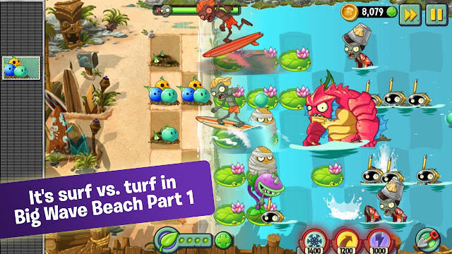 Plants vs Zombies 2 V4.1.1 MOD Apk+Data