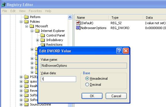 Cara Menonaktifkan Internet Explorer