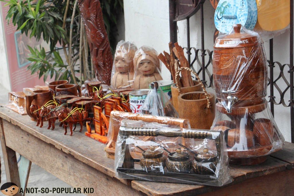 Pinoy Souvenirs found in the shops along Calle Crisologo of Vigan
