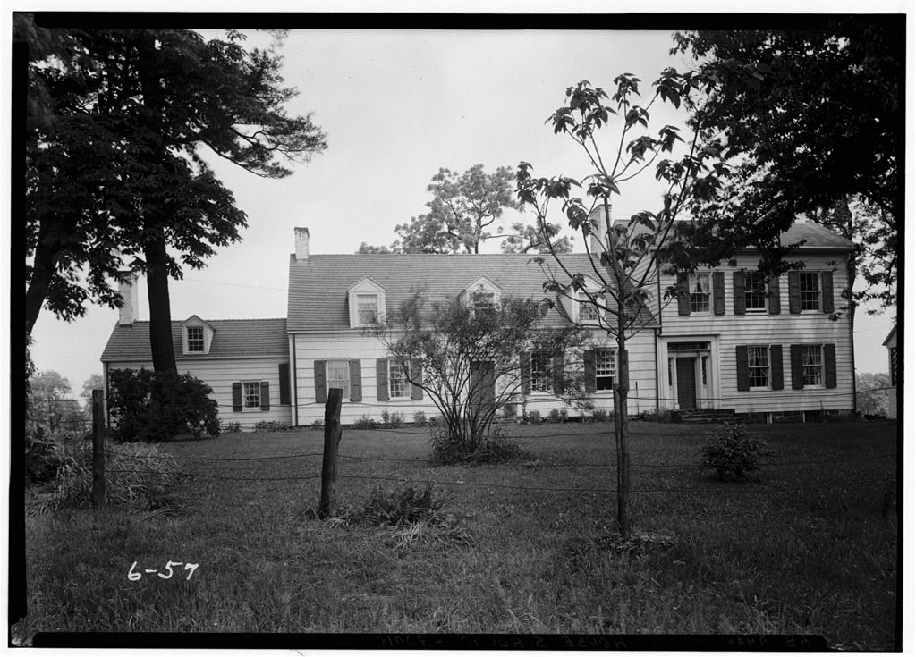 a View of The Staats House in