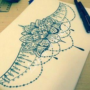 lotus mandala underboob tattoo shoko tatto studio. Black Bedroom Furniture Sets. Home Design Ideas