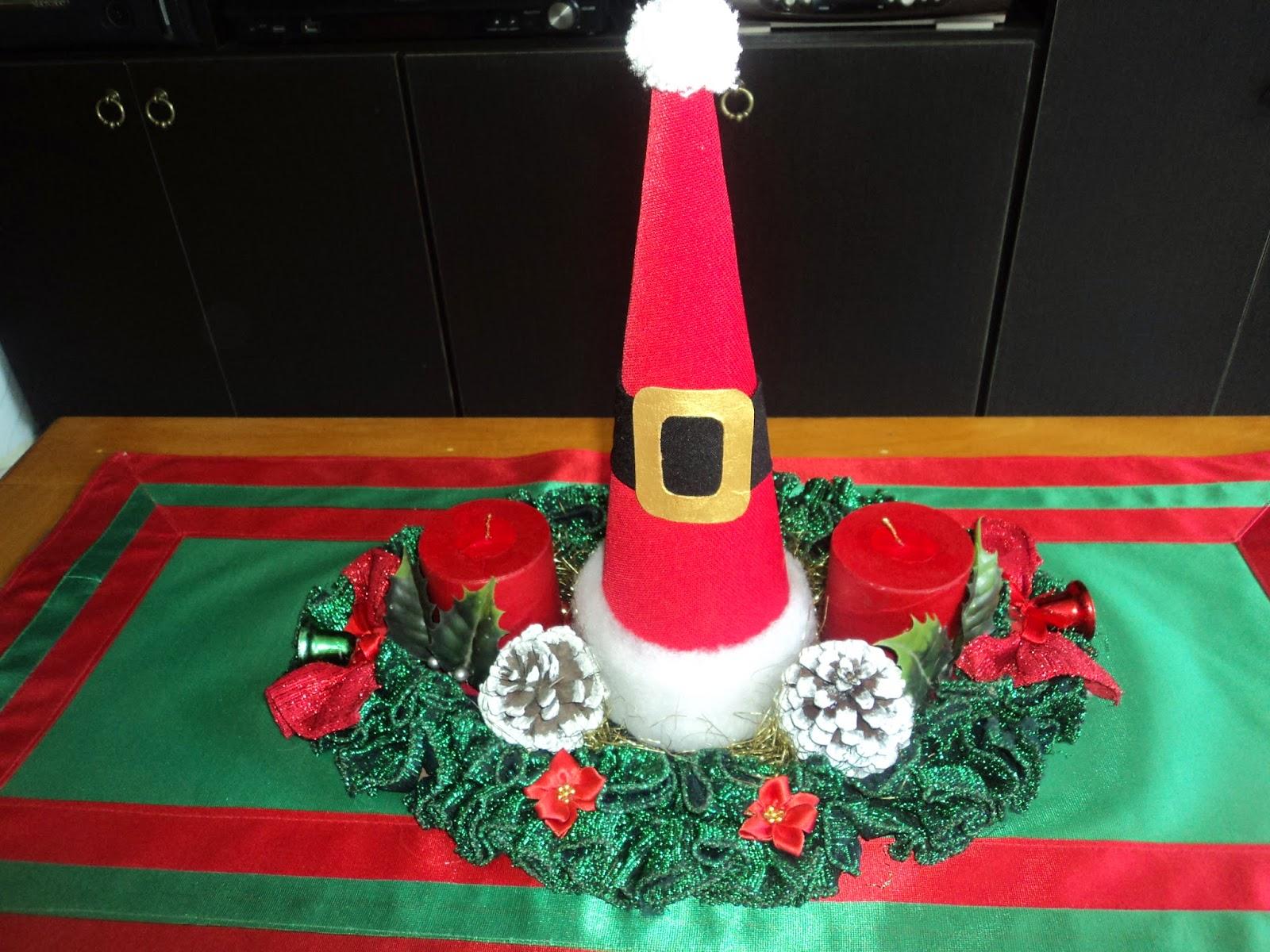 Centro de mesa navide o - Centros de mesa navidenos manualidades ...