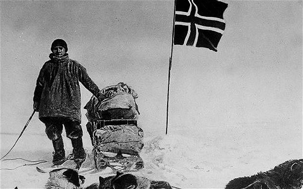 Resultado de imagen para Polo Sur Roald Amundsen