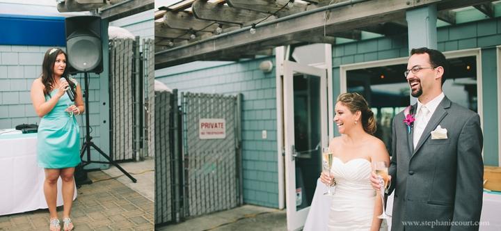 """""""sam's chowder house wedding half moon bay"""""""