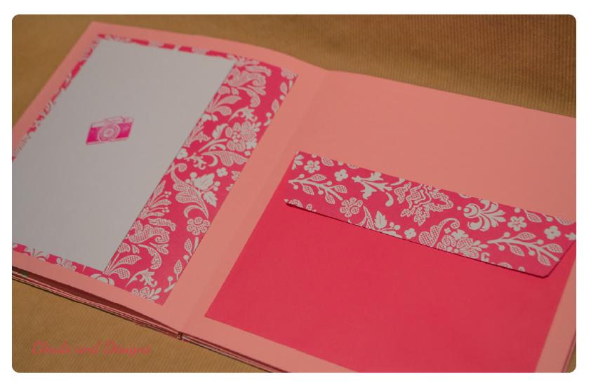 Mini album rosa