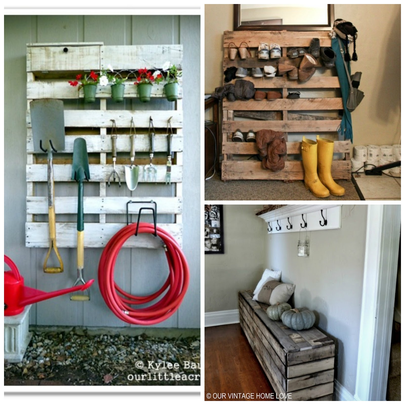 What can you make with old wooden pallets woodideas for What can you make with recycled pallets