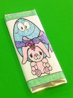 Easter Hershey Candy Bar