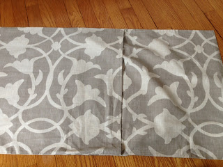 Pillow Sham Pattern King: Two It Yourself  DIY Throw Pillows from Standard Pillow Shams,