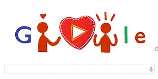 Joyeuse Saint-Valentin avec Google