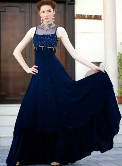 Most 10 Beautiful Pakistani Formal Dresses New Designs Images 2014 World Latest Fashion Trends