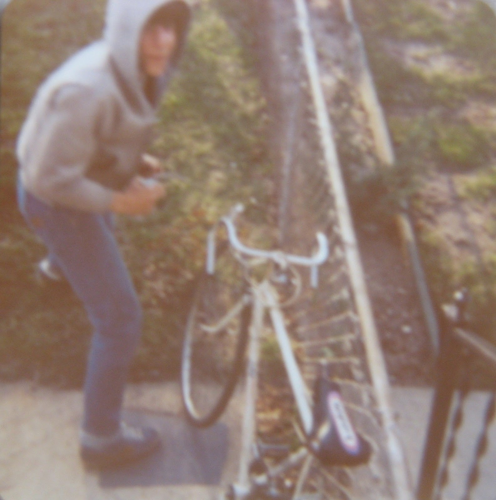 Tommy Mondello & his ten speed bike