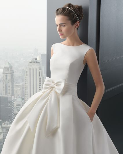 Elegancka suknia ślubna Rosa Clara