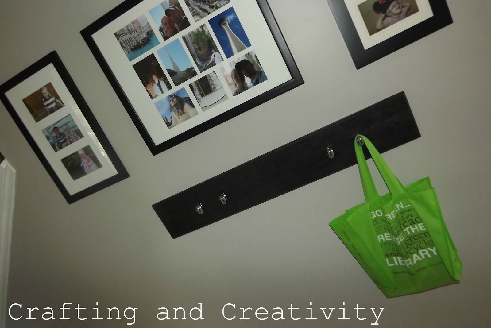 Crafting and Creativity: tour of my house--stuff on the walls!