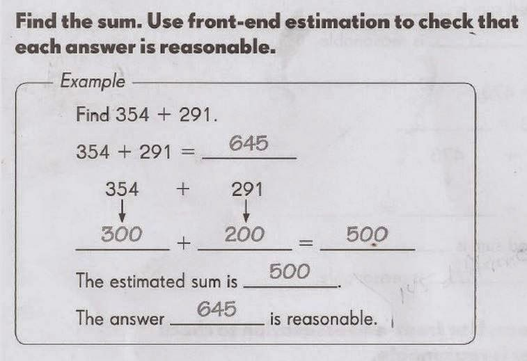 Examples of math problems