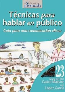 Técnicas para hablar en público, por Mar Castro y Luis López