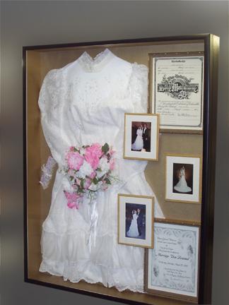 BarbraNewton\'s blog: Frame that wedding gown!