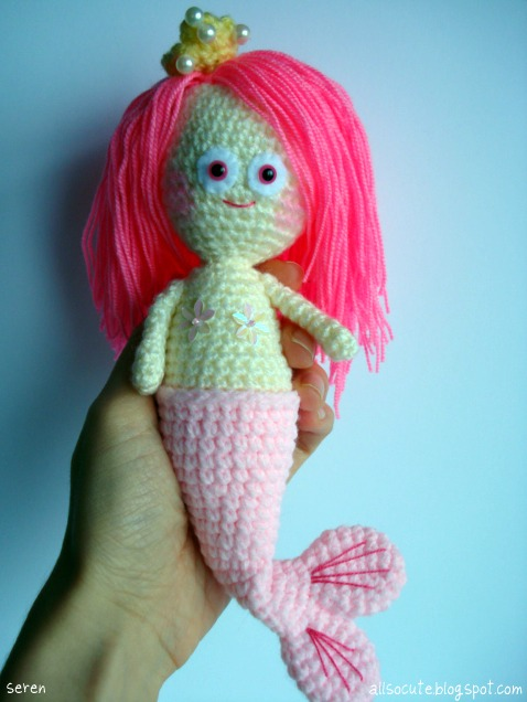 Amigurumi Crochet Mermaid : AllSoCute Amigurumis: Hand Crocheted Plush Amigurumi ...