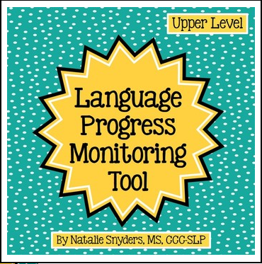 https://www.teacherspayteachers.com/Product/Language-Progress-Monitoring-Tool-Upper-Level-for-Speech-Language-Therapy-1207300
