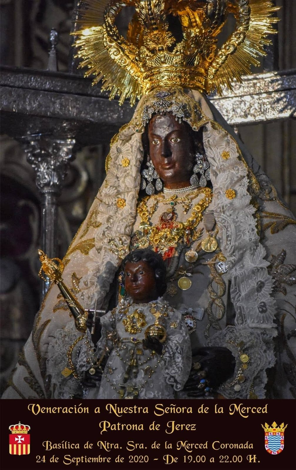 Veneración a Ntra. Sra. de la Merced