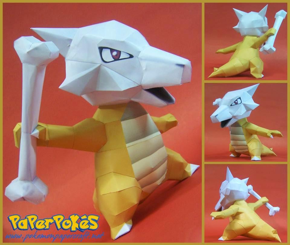 Marowak Paper Model