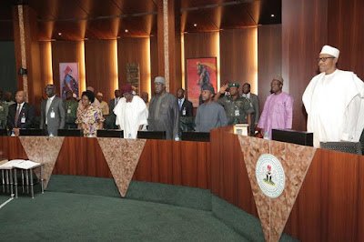 pictures of buhari new ministers