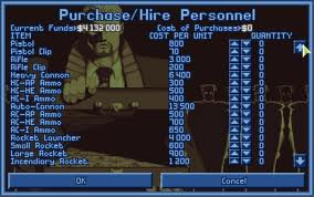 Personnel Purchase Screen UFO Defense XCOM