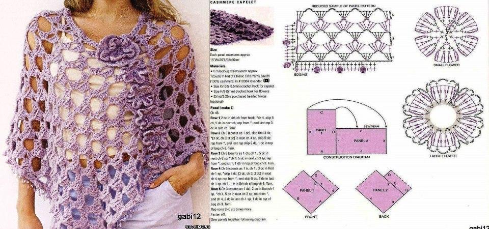 Aprendiendo a tejer: CROCHET - Poncho veraniego
