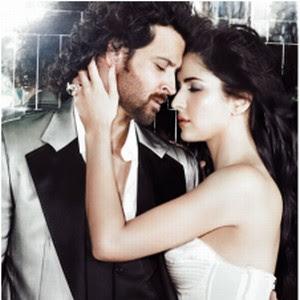 Hrithik Katrina Kiss