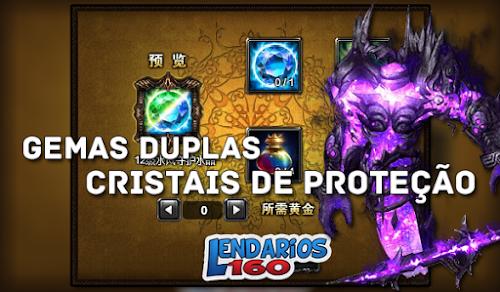 Cristais de Proteção Duplos - Legend Online
