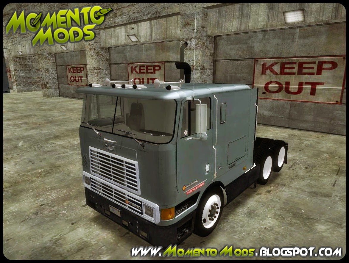 GTA SA - Navistar International 9800 + Imvehft e Steering