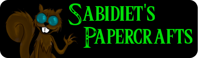Sabidiet's Papercrafts