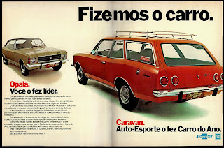 propaganda Caravan - 1976. chevrolet. brazilian advertising cars in the 70. os anos 70. história da década de 70; Brazil in the 70s; propaganda carros anos 70; Oswaldo Hernandez;