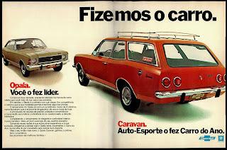 propaganda Caravan - 1976. chevrolet. brazilian advertising cars in the 70. os anos 70. história da década de 70; Brazil in the 70s; propaganda carros anos 70; Oswaldo Hernandez;