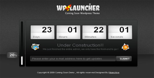 Site Under Construction Theme Free