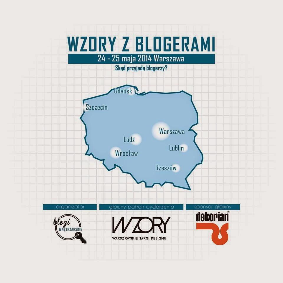 wzory z blogerami,targi designu,Warszawa targi,wnętrza,design,blogerzy wnętrzarscy,jury blogerzy