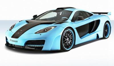 Official: Blue Hamann MemoR McLaren 12C