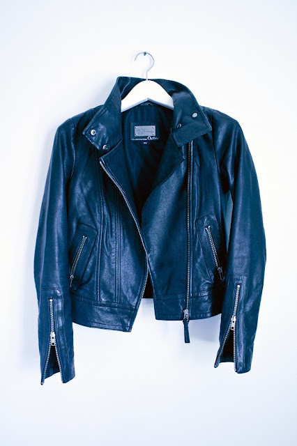 Mackage for Aritzia Kenya Leather Jacket | www.floralsandplaid.com