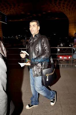 Ranbir Kapoor & Karan Johar leave for Bombay Velvet's Srilanka schedule