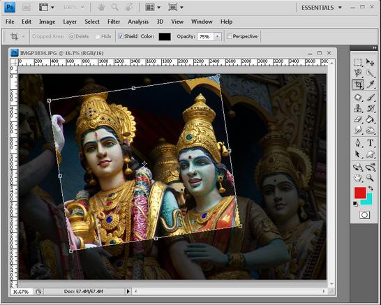 Cara Crop Gambar dan Foto dengan Ukuran Yang di Inginkan