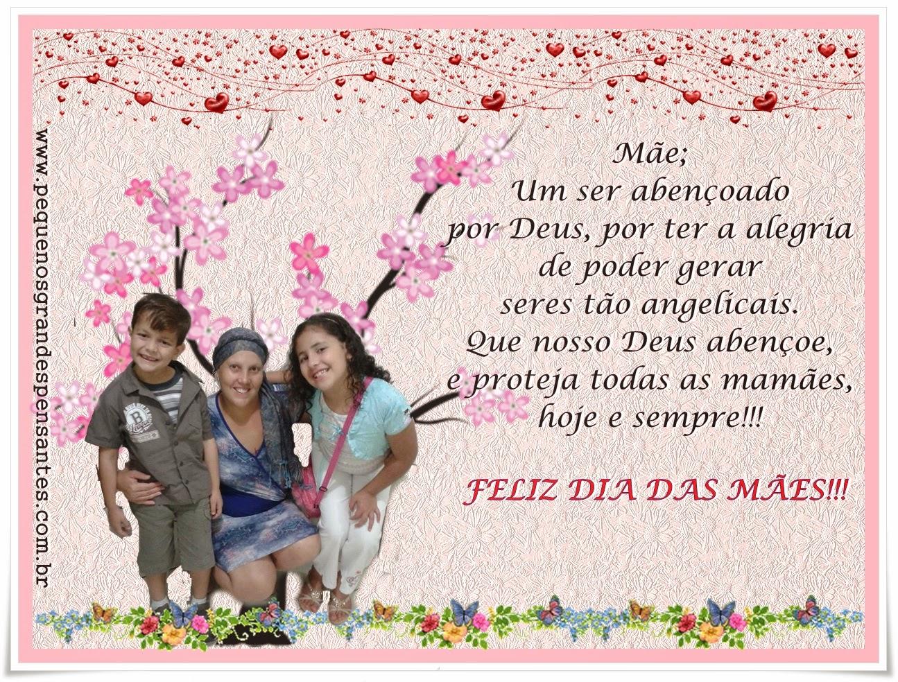 Mensagem Dia Das Mães - Pequenos Grandes Pensantes