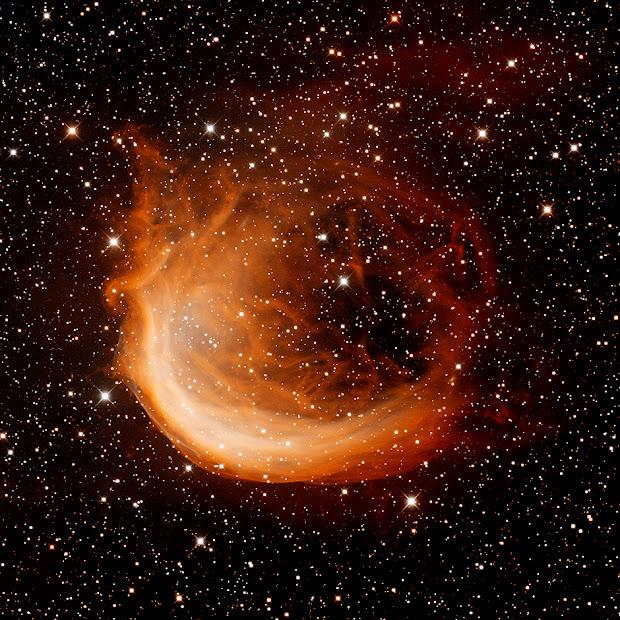 Stunning image of Planetary Nebula Sharpless 2-188 (Sh2-188)