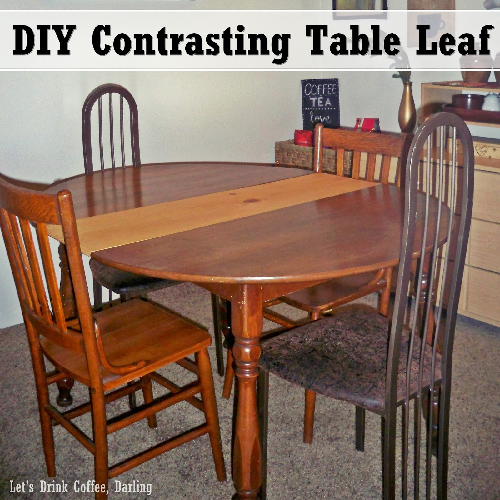 Lovely A New Leaf For Our Dining Table